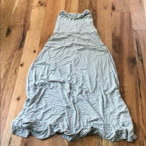 Tube top maxi dress Small from Gap